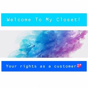 💖Please Read!! Welcome to my closet!💖